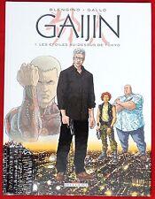 Nicola GALLO. Gaijin 1. Editions Delcourt 2008. EO  avec DESSIN ORIGINAL.
