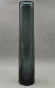 "1959 Kastrup Holmegaard Scandinavian Mid Century Modern Flower Vase  HUGE 14"""