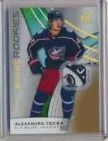 2019-20 SP Game Used Authentic Rookies PATCH 144 Alexandre Texier /65 Columbus