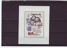 a111- CZECHOSLOVAKIA - SGMS2454 MNH 1979 1st ANNIV RUSSIA-CZECH SPACE FLIGHT
