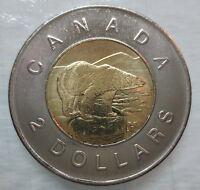 2011 CANADA TOONIE BRILLIANT UNCIRCULATED TWO DOLLAR COIN