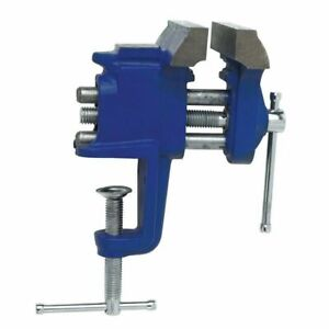 """Irwin 3"""" Jaws Hobby Woodworking Clamp-On Vise - 226303ZR  Free Fast Shipping"""