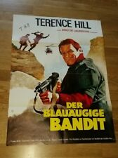 Terence Hill *Renegade, Lucky Luke*, original signed Poster 80x60 cm