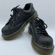 Dr. Doc Martens Oxford Black Leather Lace Shoes 8312 UK 4 Mens 5 Wowmens 6 Boots
