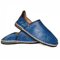 Marocchino Pantofole Pantofola Fatto a Mano Scarpe di Cuoio Marakkech Tgl 40-45