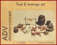 Historex Azimut ADV Food & Beverage Set 1/35 Model Kit