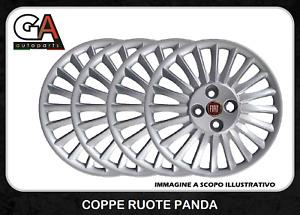 Copricerchi Grande Punto 15 Coppe Ruota Fiat Borchie set 4 pezzi Punto dal 2005