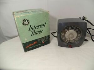 General Electric Interval Timer T-48 Model 3T48AA1