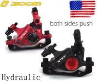 MTB XC Bike Disc Brakes Hydraulic push Calipers Mechanical pull Front Rear set