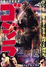 Godzilla Ver B 1954 Movie Poster 13x19 inches