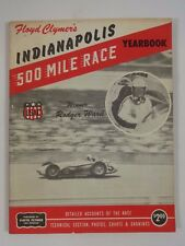 1959 Indianapolis 500 Floyd Clymer's Yearbook History Rodger Ward Watson/Offy