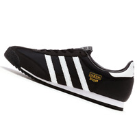 ADIDAS MENS Shoes Dragon - Black, White & Metallic Gold - G16025