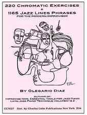 Diaz: 220 Chromati Exercises +1165 Jazz LinesPhrases- Charles Colin Publications