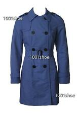 new RRP $150 JACQUI E TRENCH JACKET COAT BLUE 18 more sz in store