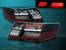 07-09 TOYOTA CAMRY SEDAN BLACK TAIL LIGHTS LED STYLE NEW