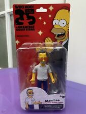 The Simpsons 25 Greatest Guest Stars Stan Lee NECA Figure NEW