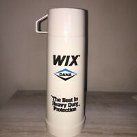 Vintage Aladdin's Off White/Creme Color Wix Dana Branded Pint Thermos
