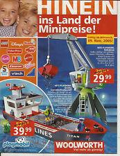 Spielzeug Katalog Woolworth Kaufhaus 2005 kein Vedes