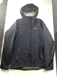 Mens Sz M Torrentshell Patagonia Waterproof Rain Jacket Storm Shell Navy Blue