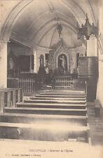 COLLEVILLE intérieur de l'église