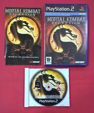 Mortal Kombat Deception - PLAYSTATION 2 - PS2 - USADO BUEN ESTADO