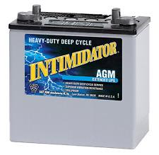 DEKA GENUINE NEW 8A22NF AGM MARINE INTIMIDATOR 420AMP CRANKING POWER BATTERY