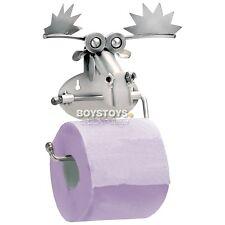 Metall-ART Design Elch Toilettenpapierhalter