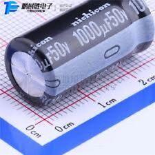 Lot de 8 condensateur chimique radial 1000µF 1000uF 1000MF 50V nichicon 125°C