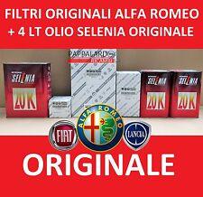 KIT TAGLIANDO FILTRI ORIGINALI + OLIO + 8 CANDELE ALFA ROMEO 147 1.6 T SPARK