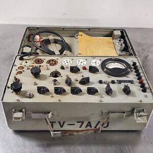 Vintage Hickok TV-7A/U Military Tube Tester