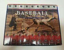 "Vintage ""Baseball"" By Ken Burns VHS Collector Series"