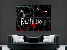 DEATH NOTE MANGA JAPANESE COMIC LARGE  GIANT POSTER PRINT ART