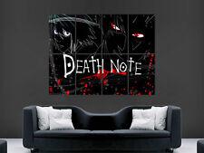 Death Note Manga japonés Comic Grande Poster Gigante De Impresión de Arte