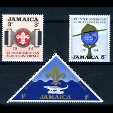 JAMAICA 1964 Scouts. SG 233-235. Mint Never Hinged. (AR604)