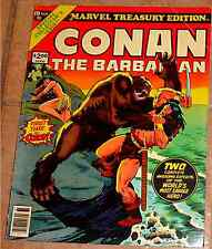 MARVEL TREASURY EDITION 19 CONAN THE BARBARIAN F RARE GIANT ROBERT E HOWARD