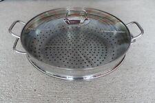 "WMF 4 piece Wok 14.5"" (36cm) Stainless steel"