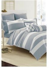 Southern Tide Breakwater Bedding Nautical Navy Full/Queen Comforter Set New