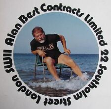 ALAN BEST BRITISH COLOUR PHOTOGRAPH ADVERTISING SIGNED 1975