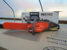 New, Bare Tool, Husqvarna 120i 40-volt Li-ion 14-in Brushless Electric Chainsaw