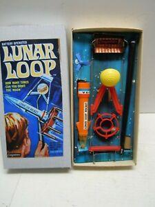 1960's  Battery Op. Japan Cragstan Lunar Loop in BOX. WORKS.NICE. NO RESERVE !