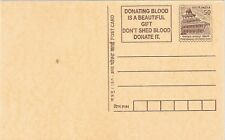 stamps India postal  card Donate Blood  Medicine