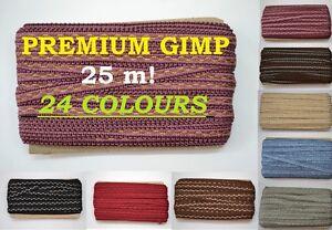 Gimp Braid - Full roll 25 meters!