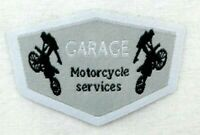 Applikation zum Aufbügeln  Bügelbild 1-364  Motorcycle Services  +