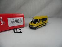 ht540, Herpa 092531 Mercedes-Benz Sprinter Postbus 1:87 NEU/NEW