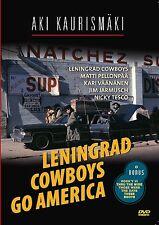 Leningrad Cowboys Go America DVD R0 Aki Kaurismaki English spoken remastered