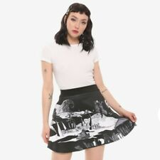 NIGHTMARE BEFORE CHRISTMAS Graveyard Skirt Small NEW
