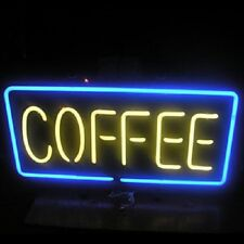 "New Coffee Cafe Open Beer Pub Bar Neon Light Sign 19""x8"""