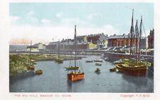 THE BIG HOLE BANGOR CO. DOWN IRELAND IRISH POSTCARD Copyright F.F. & Co.
