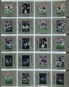LCM5-10 1997 NFL Denver Broncos John Elway Sharpe LOT (100pc) ORIG 35mm Slides