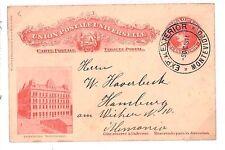 S277 1911 Uruguay *MONTEVIDEO* Postal Stationery {samwells-covers}PTS